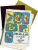 Аппликация. Самоделки из бархатных бумаг. Фото советского игрушечного набора.