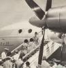 Посадка на борт ИЛ-18, фото жизни в СССР.