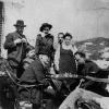 В.И.Ленин  в гостях у М.Горького.  Капри, Италия  1908 г.