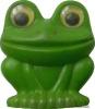 Зеленая лягушка. Детская игрушка из СССР.