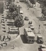 Улица днем, вид сверху. Фото жизни в СССР.