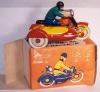 Еще фото игрушечного мотоцикла, теперь вместе с коробкой.