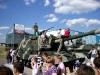 Народ и самохлжная артиллерийская установка.