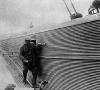 И.В. Сталин лично осматривает бомбардировщик ТБ-3