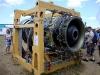 Турбина от самолета, фото.