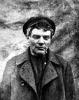 В.И. Ленин в парике и кепке.  Станция Razliv.  26 июля (11 августа) 1917