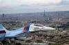 Су-30 4-го ЦБПиПЛС над Парижем.