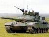 Советский танк в поле.