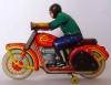 И еще раз тот же мотоциклист.