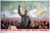 Под предводительством великого Сталина - вперед к коммунизму!
